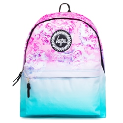 Hype Pastel Rose Fade Backpack - Blue & Pink