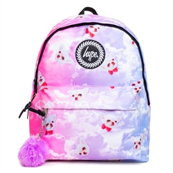 Hype Penelope Skies 18L Backpack - Pink & Blue