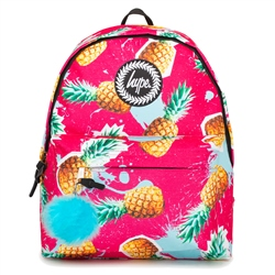 Hype Pineapple Splat 18L Backpack - Pink