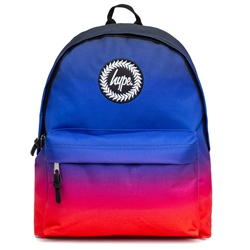 Hype Russell Gradient Backpack - Blue & Red