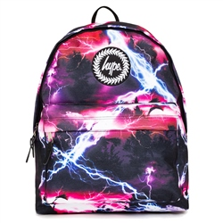 Hype Tropic Storm Backpack - Purple & Black