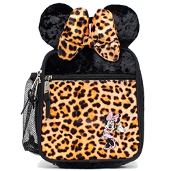 Hype Disney Minnie Leopard Lunch Box - Black