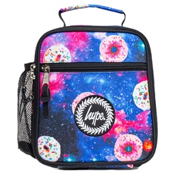 Hype Donut Galaxy Lunch Box - Blue & Pink