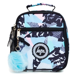 Hype Pastel Abstract Lunch Box - Blue