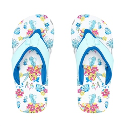 Animal Swish AOP Flip Flop - White