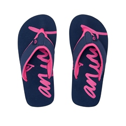 Animal Swish Logo Flip Flop - Indigo