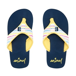 Animal Swish Upper AOP Flip Flop - Multicolour