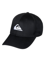 Quiksilver Mens Decades Snapback Cap - Black