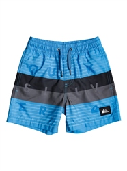 Quiksilver Word Block Volley Shorts - Blithe