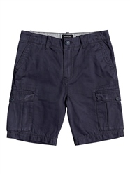 Quiksilver Boys Crucial Battle Walkshorts - Blue Nights