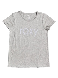Roxy Endless Music Flock T-Shirt - Heritage Heather