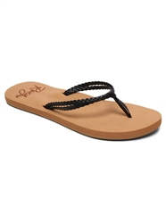 Roxy Costas Flip Flop - Black