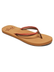 Roxy Costas Flip Flop - Fall Leaf