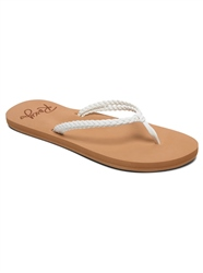Roxy Costas Flip Flop - White