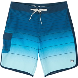 "Billabong 73 Striped Pro 18"" Boardshorts - Navy"