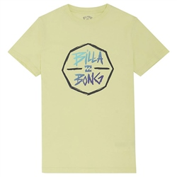 Billabong Octo T-Shirt - Neon Lemon