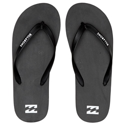 Billabong Tides Solid Flip Flops - Black