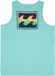Billabong Warchild Vest - Light Aqua