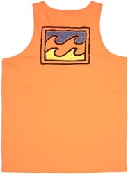 Billabong Warchild Vest - Sunset