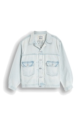 Levi's Love Letter Trucker Jacket - Poolside Blue