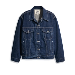 Levi's Made & Crafted Oversized Trucker Jacket - Majorelle Blue
