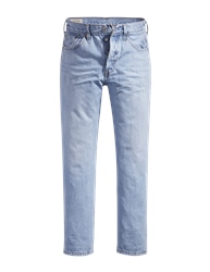 Levi's 501 Cropped Jeans - Montgomery Blue