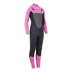 Animal Lava 4/3mm Wetsuit - Black (2020)