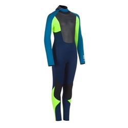 Animal Lava Back Zip 5/4mm Wetsuit - Dark Navy (2020)