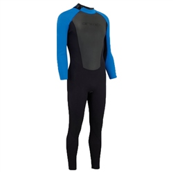 Animal Mens Nova Back Zip 3/2mm Wetsuit - Black (2019)