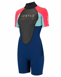 Animal Nova Shorty Wetsuit - Dark Navy