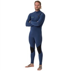 Animal Phoenix Chest Zip 5/4mm Wetsuit - Navy (2018)