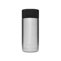 Yeti Rambler 12oz Bottle With Hot Shot Cap - Steel