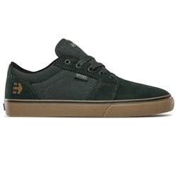Etnies Barge Shoes - Green & Gum