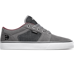Etnies Barge Shoes - Grey & Black