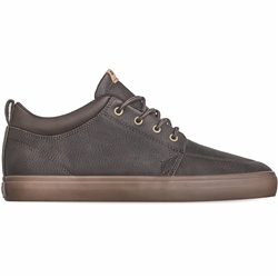 Globe GS Chukka Shoes - Choco & Mock Synthetic Leather