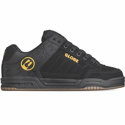 Globe Tilt Shoes - Black & Caramello