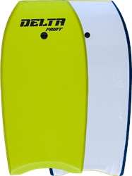 "Alder Delta Point 36"" Bodyboard - Green"