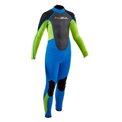 Gul Response FL 3/2mm Back Zip Wetsuit (2020) - Zafer & Lime