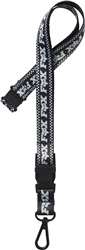 Fox F-Head-X Lanyard - Black