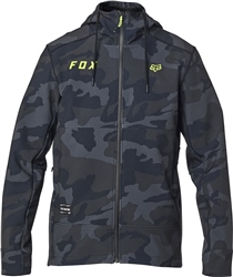 Fox Pit Jacket - Black Camo