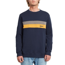 Volcom Single Stone Division Sweatshirt - Navy
