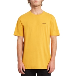 Volcom Crass Blanks T-Shirt - Inca Gold
