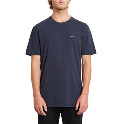 Volcom Crass Blanks T-Shirt - Navy