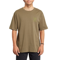 Volcom Mariguana Relaxed T-Shirt - Military