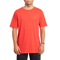Volcom Stone Blanks T-Shirt - Fiery Red
