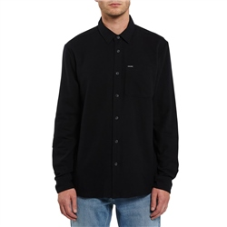 Volcom Caden Solid Shirt - Black