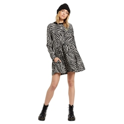 Volcom Golden Hour Dress - Animal Print