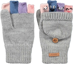 Barts Puppet Bumgloves - Heather Grey