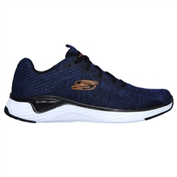Skechers Solar Fuse Kryzik Shoes - Navy & Black
