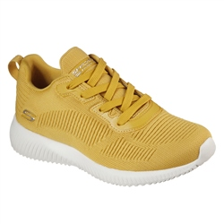 Skechers Bob's Sport Squad Tough Talk Shoes - Yellow